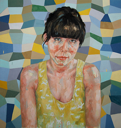 JENNIFER CARVALHO Jess Oil on canvas