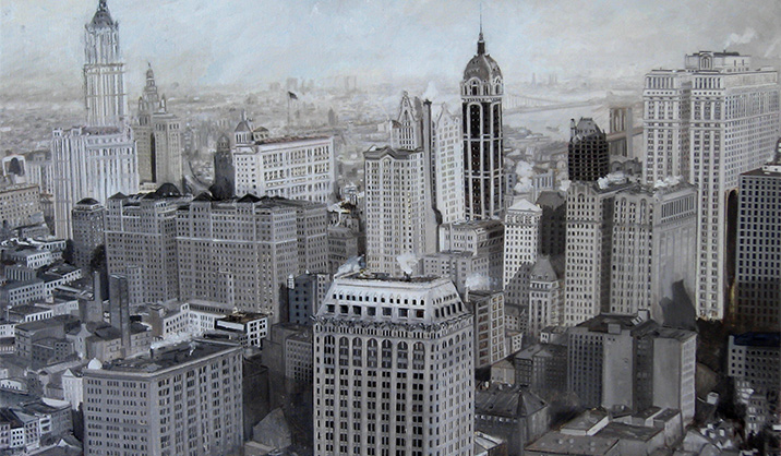 JOSEPH SIDDIQI New York 1919 Oil on linen