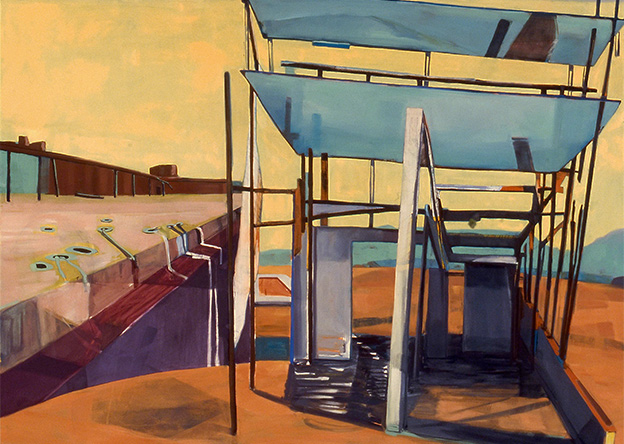 MEDRIE MACPHEE Maisonneuve Oil on canvas
